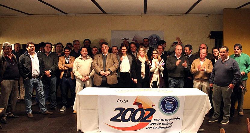 La Lista 2002 con Alejandro Ilundain al frente