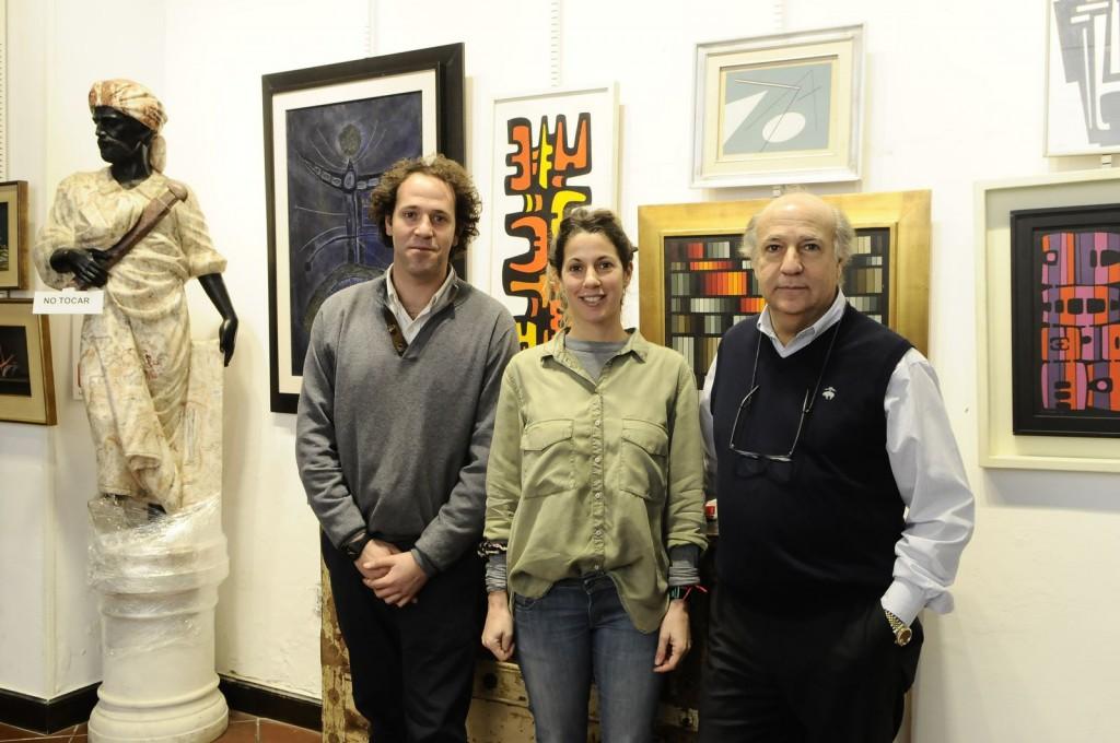 """La cuarta generación gana experiencia, Eugenio y Luciana Bavastro junto a su padre """"Pepe"""" Bavastro"""