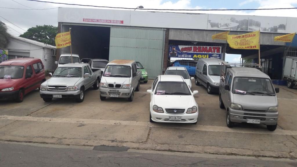 Variados vehículos en la subasta