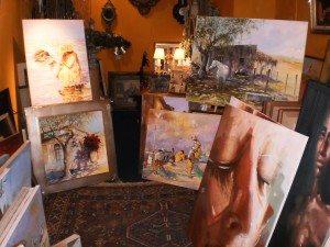 Novedades del arte en la Galería de Zira Guichon del Torreón