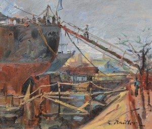 Castells. Pintura Nacional para el 6 de abril - Zoma Baitler.