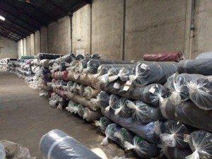 "Vanoli-Brun remata stock de tejidos de textil ""Agolan S. A."""