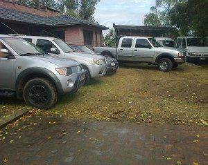Mario Suhr con vehículos y solares el sábado 23 de abril en el Pinar