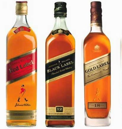 JohnnyWalkerRangeREDBLACK GOLD