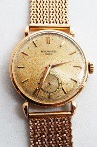 reloj Patek Philippe de oro 18K