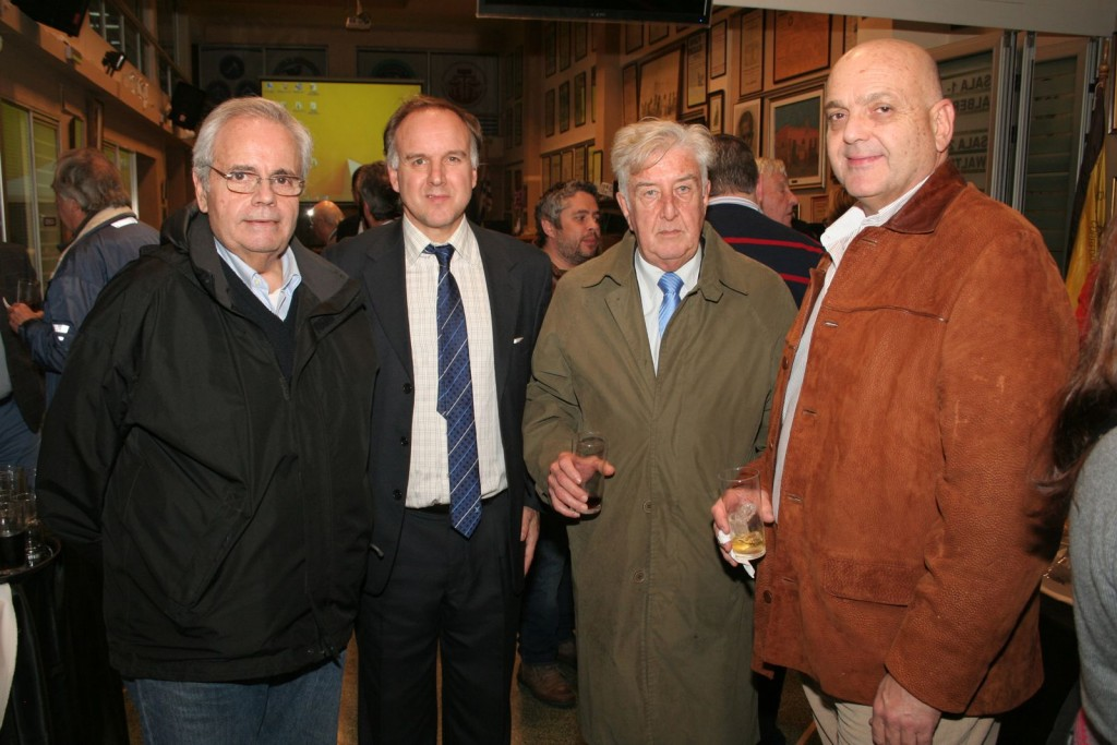 Ernesto Argenti, Pablo Ponce, Daniel Orellano y Otto Fernández