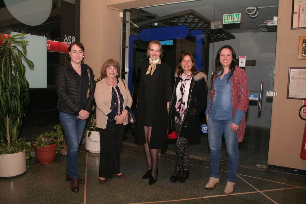Cecilia Molina, Teresita Massa, Virginia Ortiz, Virginia Mora, Daniela Cuentas