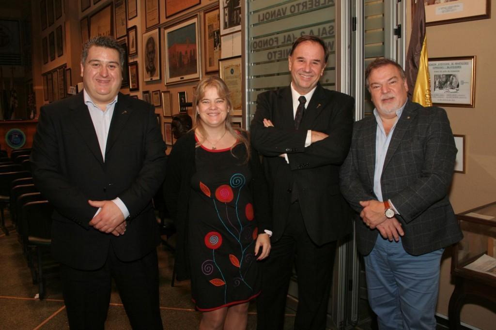 Mario Molina, Patricia Ortiz, Mario Stefanoli y Wilder Ananikian