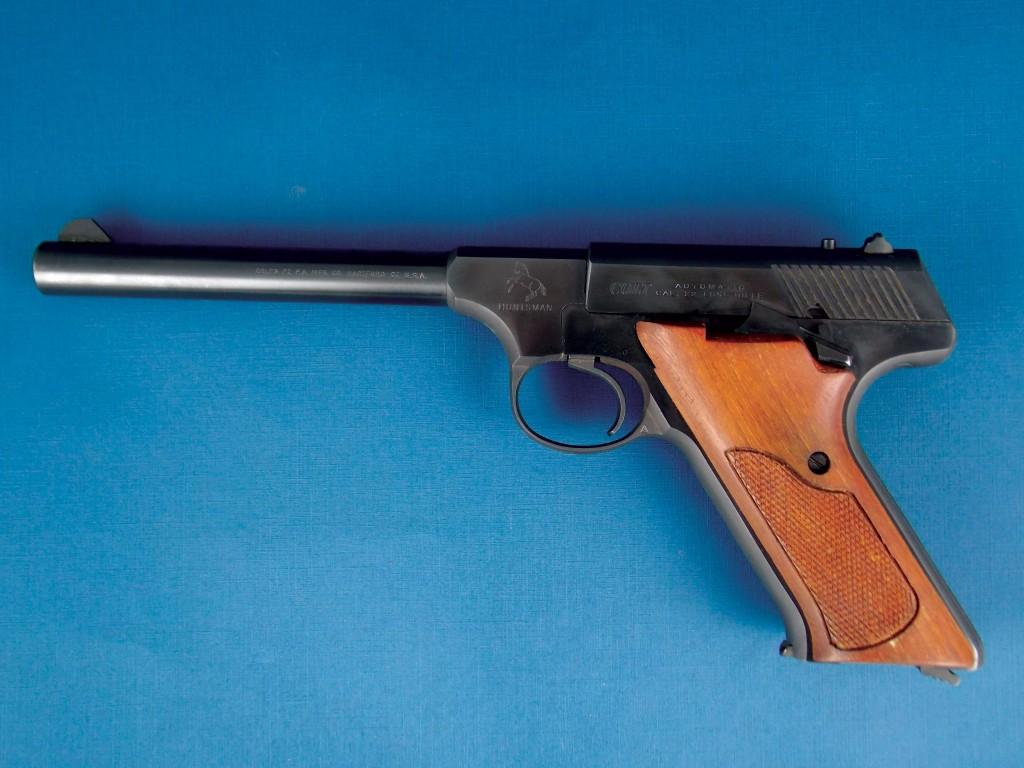 Pistola Colt, mod. Huntsman, calibre 22LR