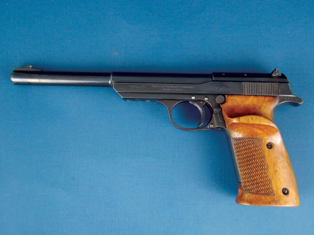Pistola Walther, mod. Olympia, calibre 22 LR