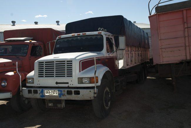 Flota de Camiones, Zorras y Remolques