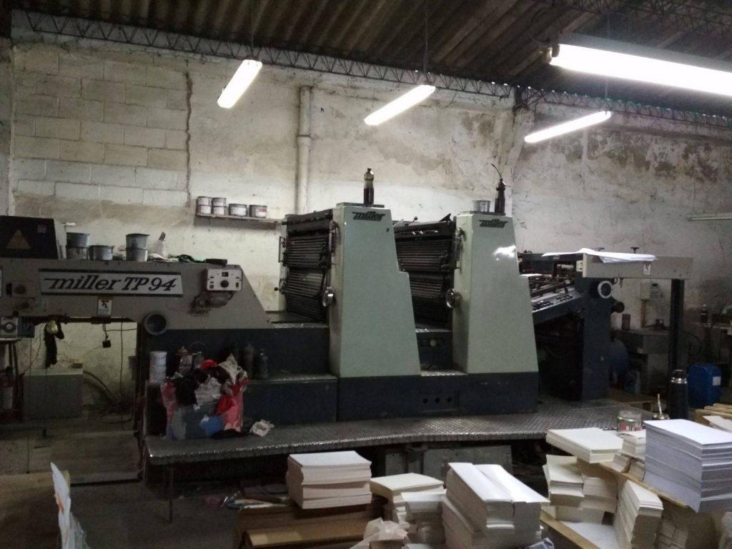 Gran Remate de Máquinas de Imprenta