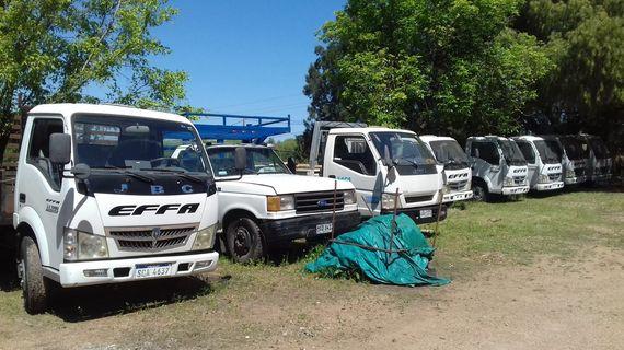 Vehículos, contenedores, maquinaria, herramientas y más