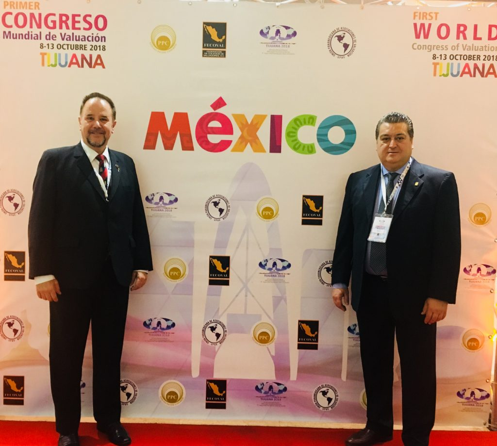 Congreso mundial de Valuación Tijuana, México