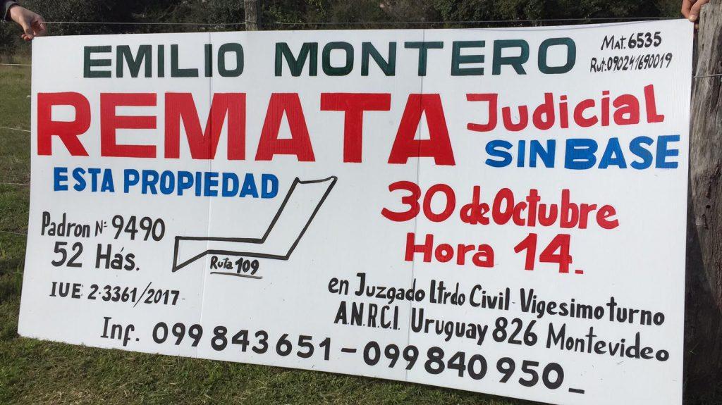 52 Hectáreas. Paraje Alférez  a 35 km. de Aiguá y 20 Km. de Rocha