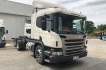 3 Camiones marca Scania año 2015. Excelente mantenimiento, muy poco uso.