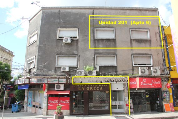 Apartamento céntrico en Salto