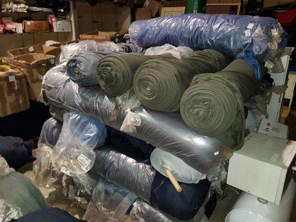 Finos sillones cuero, rollos tela polyester, bazar y mas