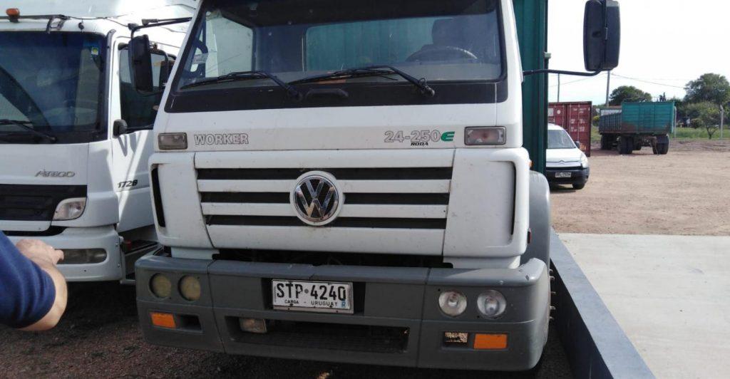 Judicial. Camión y Zorra
