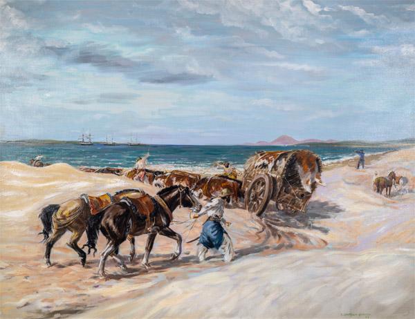 Buenas cotizaciones en la selecta pintura de la firma de Carrasco
