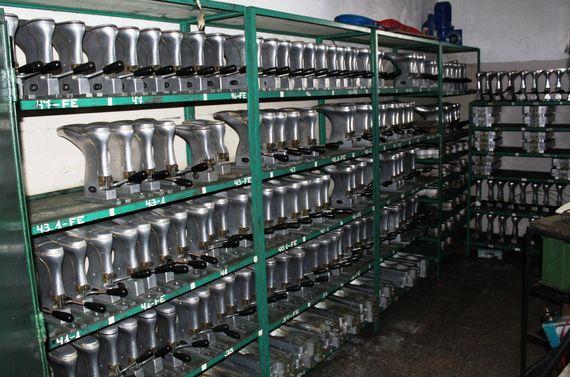 Fabrica PUNCH: Armadora de calzados a Inyección BGM Elite 60 de 16 estaciones