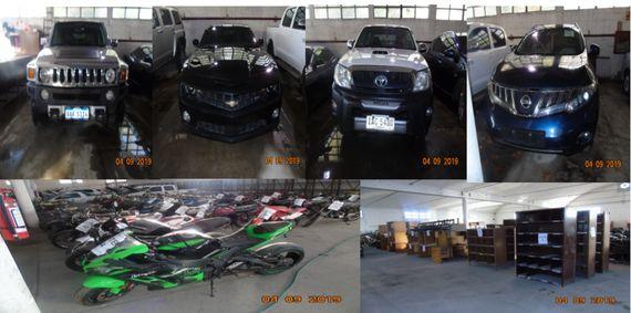Poder Judicial. Autos, Motos, Camionetas, Muebles de Oficina, Art. Computación