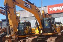 Excavadora Hidráulica JCB sobre Orugas