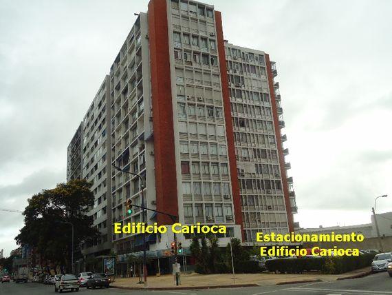 Apartamento de 1 dormitorio en Edificio Carioca
