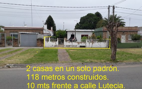 Dos casas en un mismo padrón en Jadines del Hipódromo