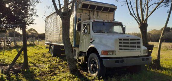 Dos Camiones con Furgón Refrigerado