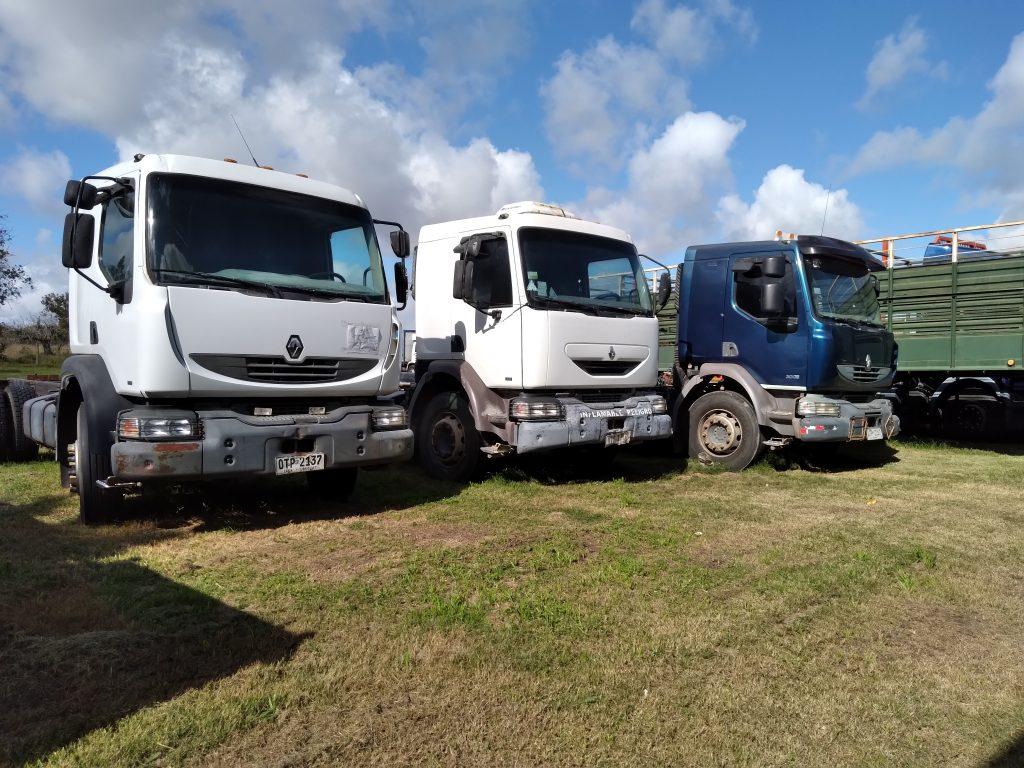 Gran remate de transporte, maquinaria vial, agrícola y otros