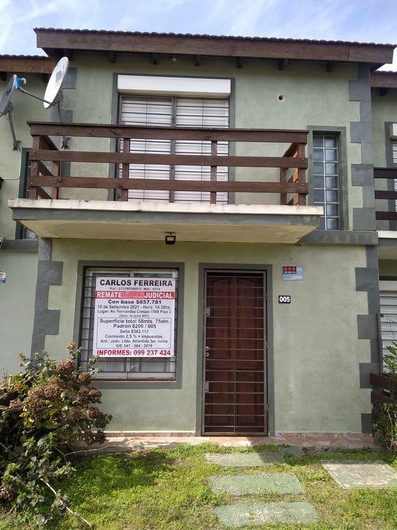 Duplex en Atlántida a 2 cuadras de la playa