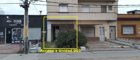 Apartamento de 1 dormitorio con patio en Cno. Carrasco