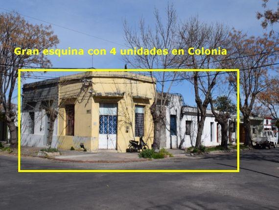 Oportunidad para inversores en Colonia del Sacramento – 4 Unidades en un solo padrón