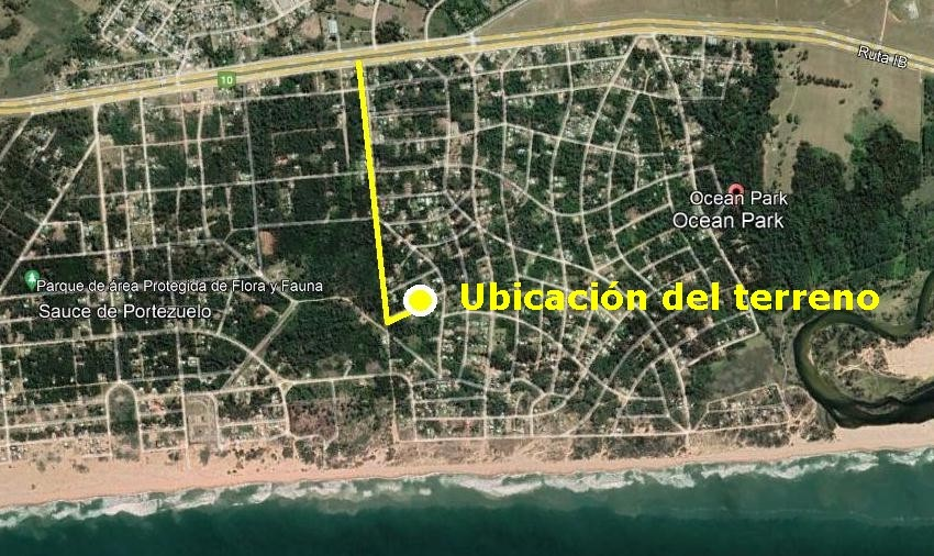 Terreno en Ocean Park, Maldonado